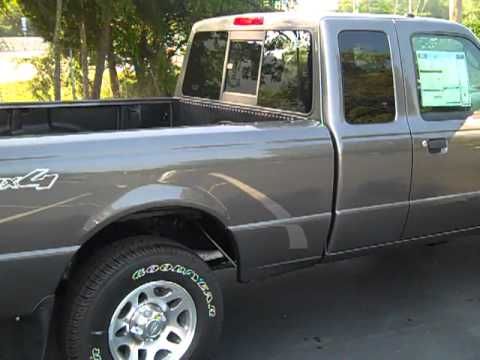 2010 Ford Ranger Xlt 4x4 Extended Cab Youtube