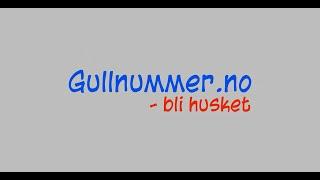 Gullnummer.no - Bli Husket
