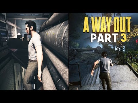 BREAKING OUT FROM PRISON - A Way Out - Part 3 (Prison Break Escape Game)