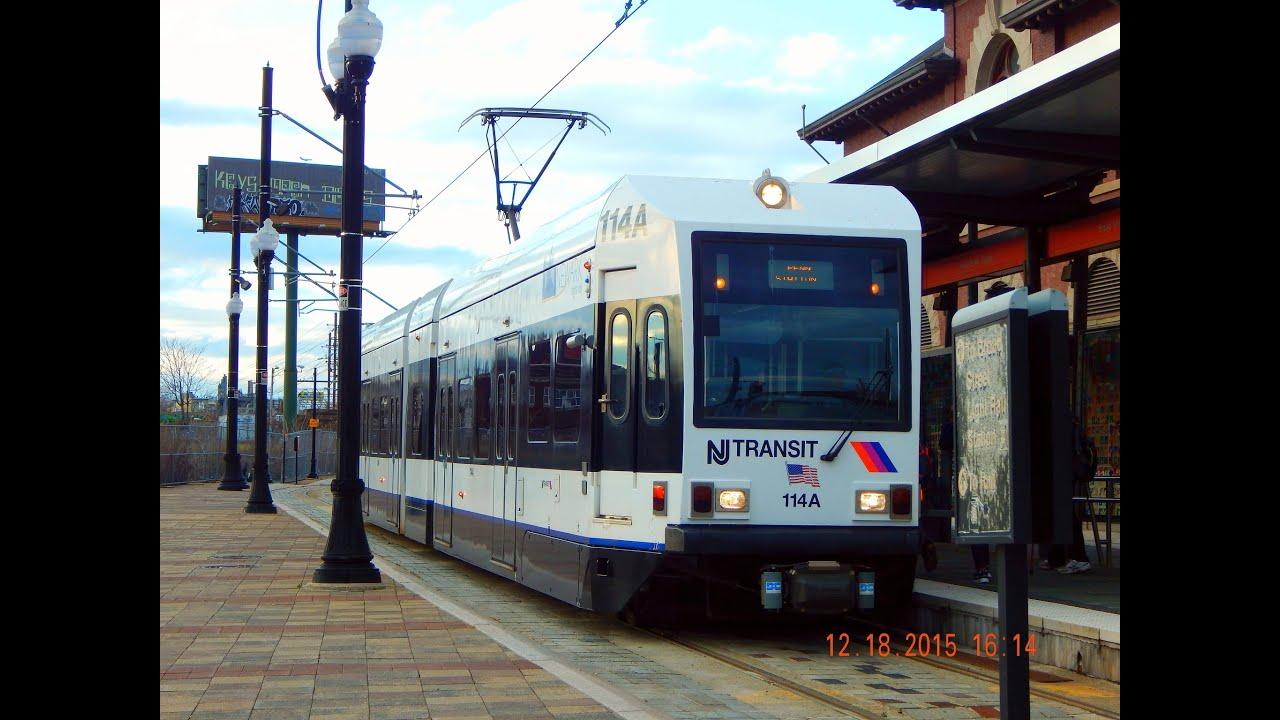 New Jersey Transit Newark Light Rail To Broad Street