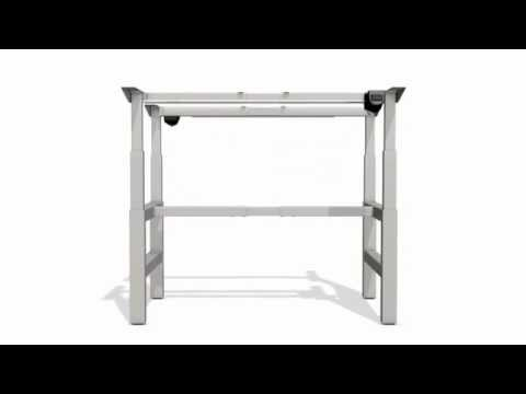 Zit sta bureau tafel STEELFORCE PRO 460 LC BENCH Actiforce All