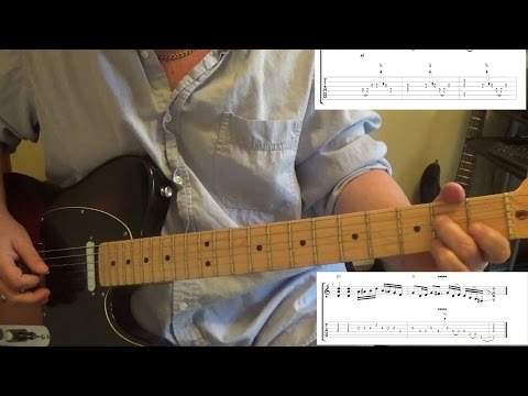 Blackberry Smoke -  Good one coming on - Guitar Lesson with Tabs