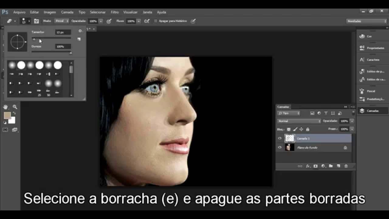 Tutorial Photoshop Cc Pele Perfeita Facil E Rapido Hd Youtube