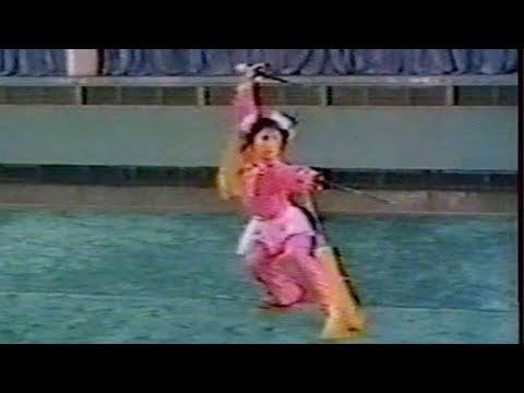 【武術】1976 張曉華 (長穂双剣)/【Wushu】1976 Zhang Xiaohua (Changsuijshuangian/Long Tassel Double Straight Sword)