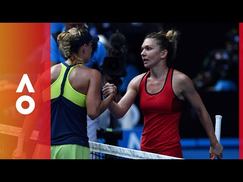 As it happened: Halep v Kerber (SF) | Australian Open 2018
