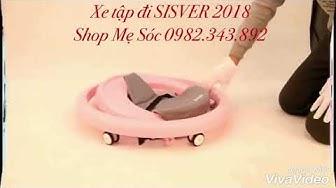 Xe tập đi Sisver 2018 cho bé - Shop Mẹ Sóc 0982.343.892