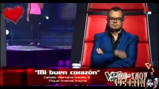 Lucero niña ciega canta en la voz mexico