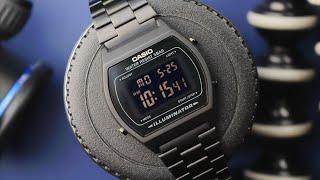 If Batman Created A Digital Watch... – 'Blackout' Casio B640WB-1BEF