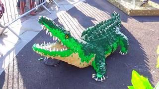 Лего Животные в полный рост Прогулка по набережной Кардиффа