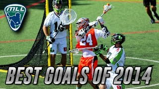 Major League Lacrosse: Best Goals of 2014