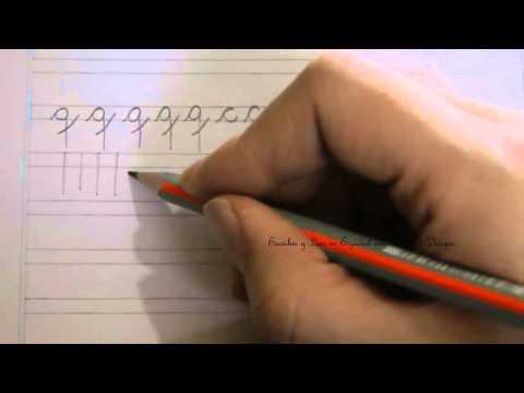 caligrafía:-cómo-escribir-la-letra-q-minúscula