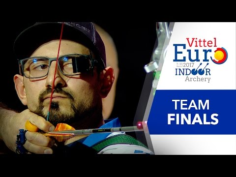 Live Compound and Recurve Team Finals | European Indoor Championships – Vittel 2017