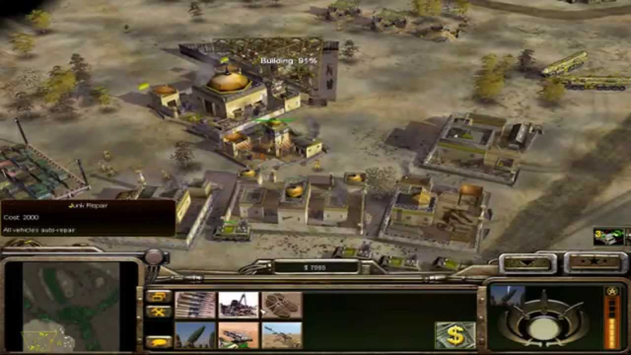 c&c generals shockwave mod 1.1