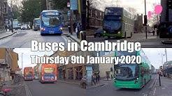 Buses in Cambridge   Thu 09/01/2020