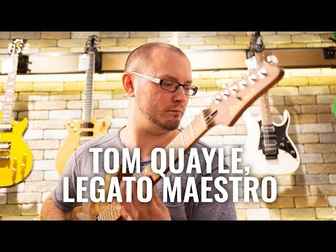 "Essentially, I'm cheating at the guitar"": Tom Quayle"