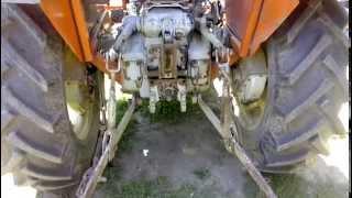 Ursus C-360 - Hidraulik radi sa isključenim kardanom