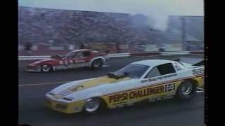 Drag Racing 1983 NHRA World Finals FUNNY CAR Round 1 Part 1