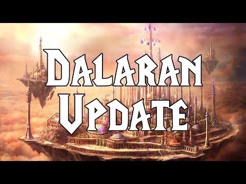 La Comparaison De Dalaran En Norfendre Et Aux îles Brisées
