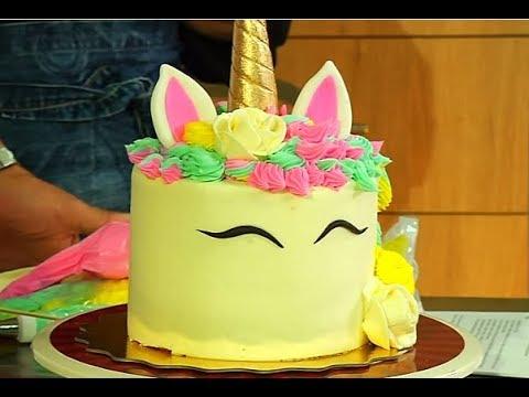 Torta de Unicornio | Dalila Cabrita y Mauro Castano de Cake Boss | La Sartén por el Mango