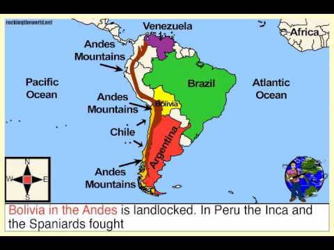 The South America Geography Song