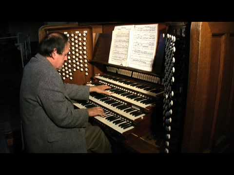 Schumann Op. 56 No. 4 | Thomas Murray Organist | Newberry Memorial Organ | Yale University