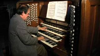 Thomas Murray play Schumann Op. 56 No. 4