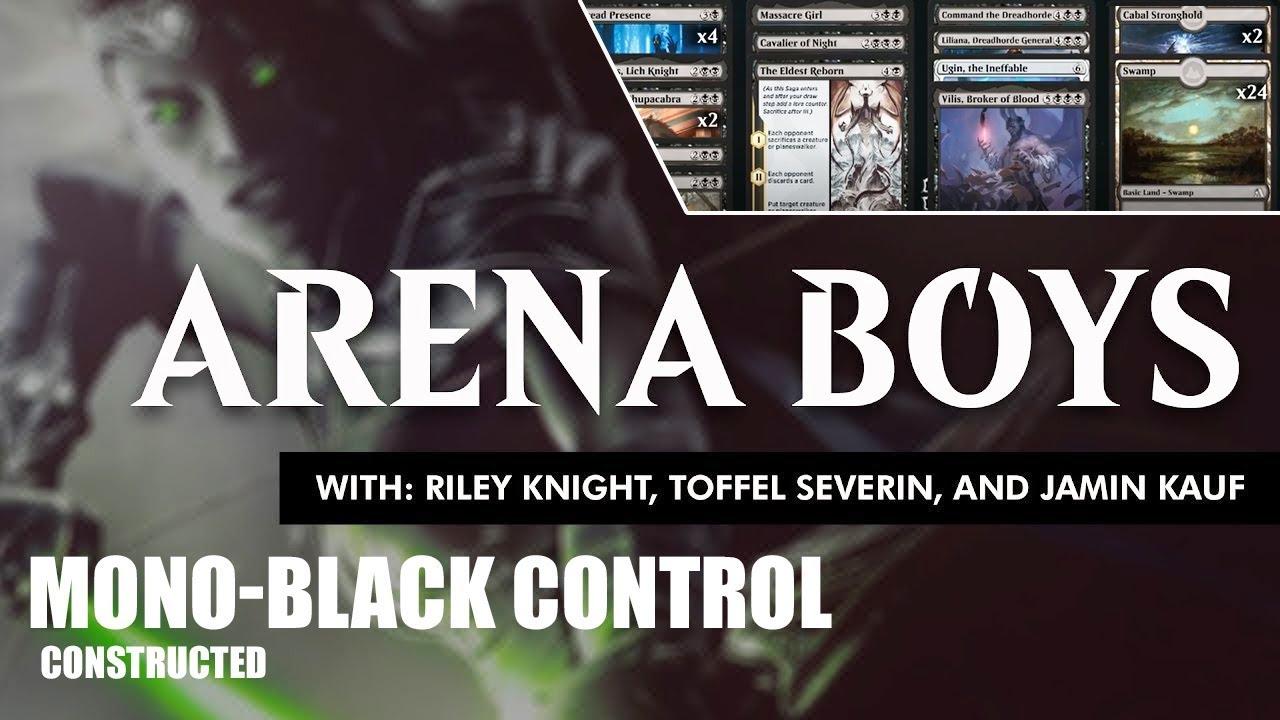 Arena Boys Deck Guide: Mono-Black Control