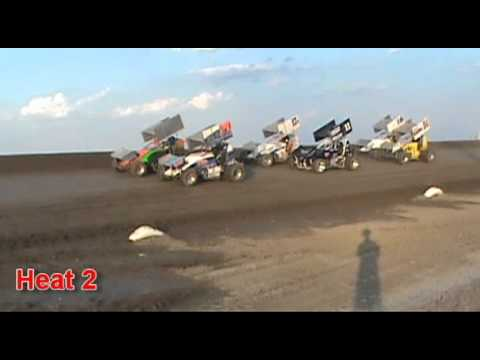 URSS 305 Sprint Cars Speed Shots | Wakeeney Speedway | Wakeeney, KS | 7/13/12