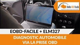 ELM327 + Logiciel EOBD-Facile : Valise de diagnostic auto OBD