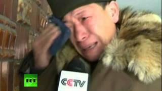 Массовая истерия в КНДР после смерти Ким Чен-Ира