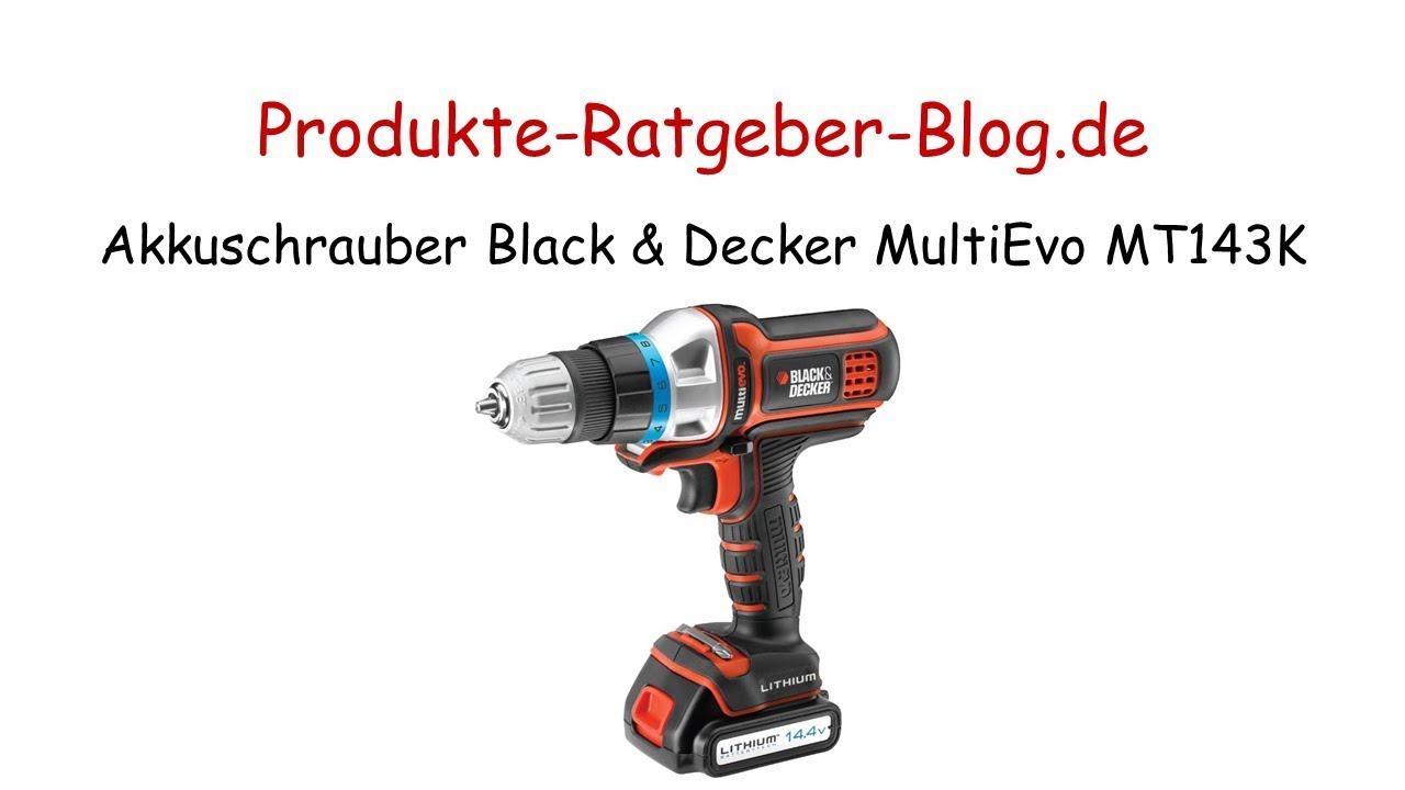 test akkuschrauber black & decker akku-multifunktionswerkzeug