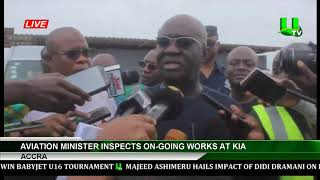 Aviation Minister Inspects Ongoing Works At KIA