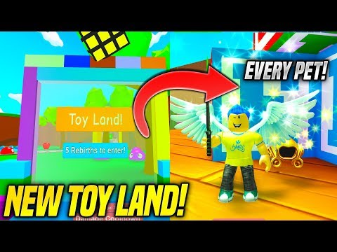 *NEW* TOY WORLD IN BLOB SIMULATOR AND HOW TO INSTANT REBIRTH!! (Roblox)