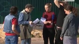 """""""Вести СПб"""" о незаконной стройке на пляже Зеленогорска"""