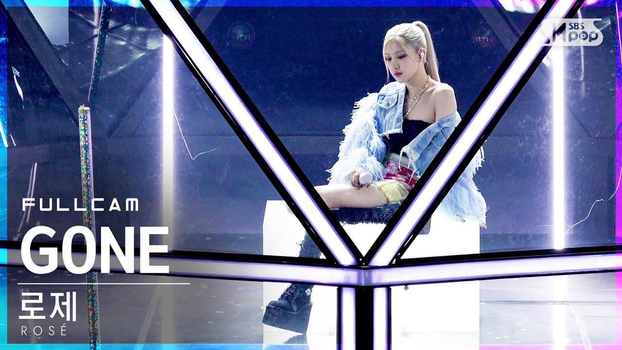 Download [안방1열 직캠4K] 로제 'GONE' 풀캠 (ROSÉ Full Cam)│@SBS Inkigayo_2021.03.14.