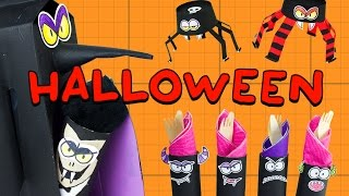 Dracula | Spider | Monsters - DIY Halloween Crafts Collection | Box Minis on Box Yourself