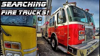 Searching Fire Trucks! Found Lots Of Goodies! | Crown Rick Auto