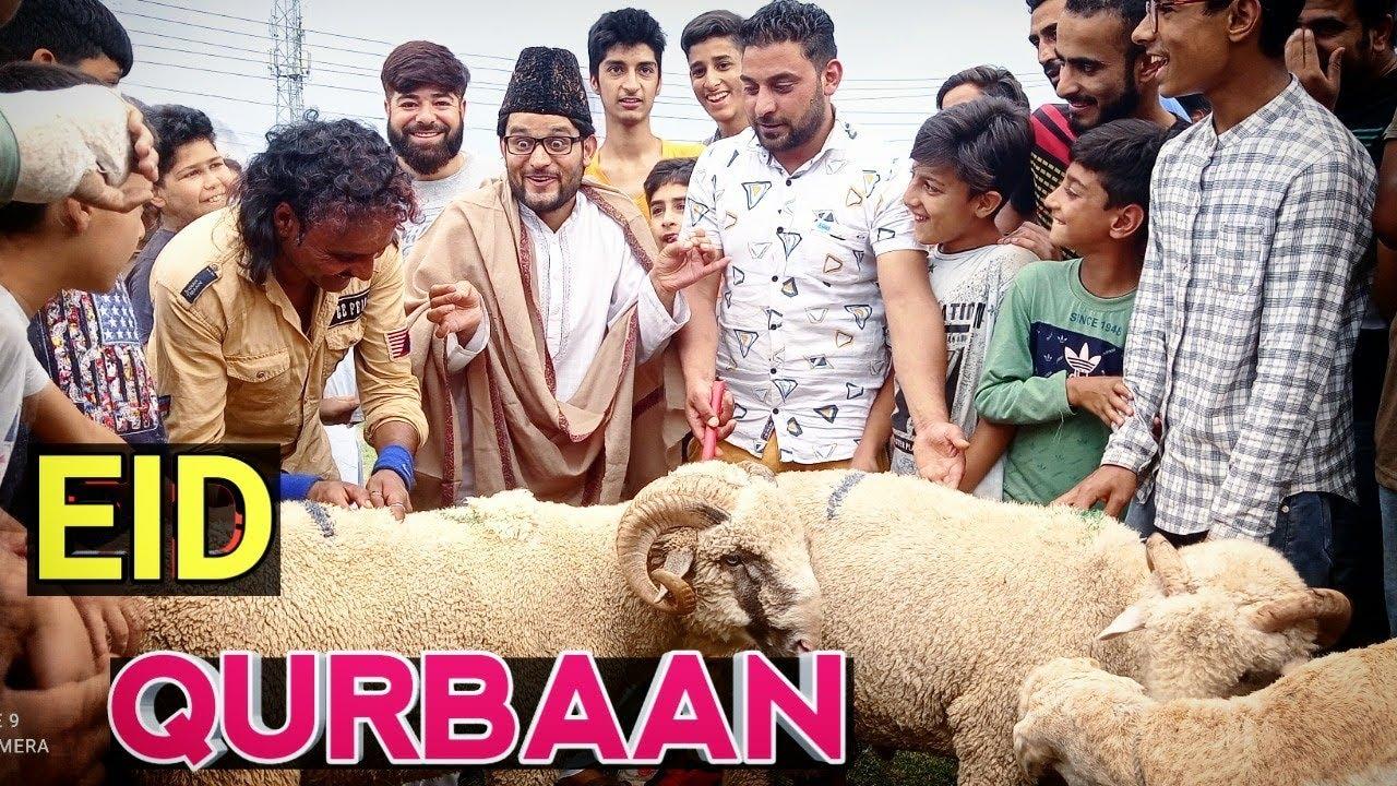 Eid Qurbaan    Funny video by kashmiri comedy kings