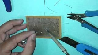 Manual PCB Assembly  -  General Purpose Board