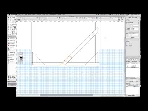 How To Draft A Scenic Flat Using VectorWorks CAD 2D