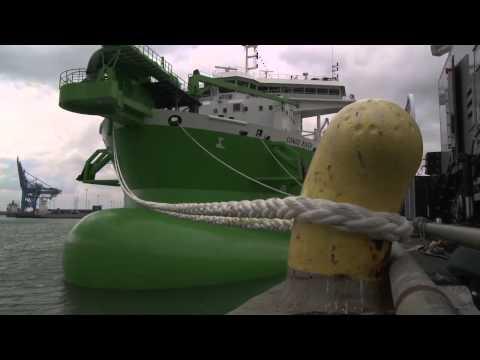Eko Atlantic July 2011 New Dredger Phase 2