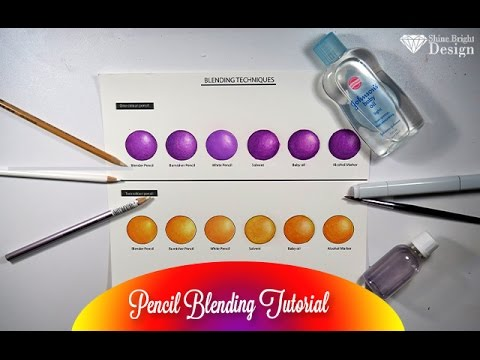{Blending Tutorial} Blenders Burnishers, Solvents and Alcohol Marker