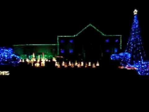 holiday house christmas lights set to music - How To Set Christmas Lights To Music