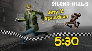 ЮДЖИН ЗАМУТИЛ Speedrun SILENT HILL 2 (5:30) World Record!