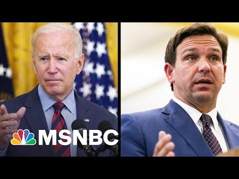 Gov. DeSantis Fundraising Off His Covid Fight With Biden