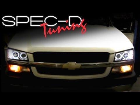 [FPWZ_2684]  SPECDTUNING INSTALLATION VIDEO: 2003-2006 CHEVY SILVERADO HEAD LIGHTS /  PROJECTOR HEAD LIGHTS - YouTube | 03 Chevy 1500 Headlight Wiring |  | YouTube