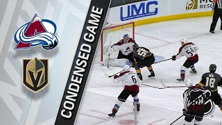 03/26/18 Condensed Game: Avalanche @ Golden Knights