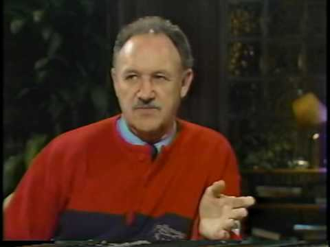 David Brenner's talk show, Nightlife, with guest, Gene Hackman-Part 1