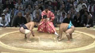 平成25年十一月場所初日 お辞儀 sumo 大相撲 九州場所.