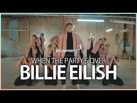 BILLIE EILISH - When The Party's Over   Expressenz Dance Center & Chad McCall